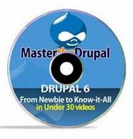 Обучающий видеокурс Master the Drupal
