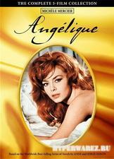 Анжелика (все 5 фильмов) / Angelique (1964-1968) DVDRip