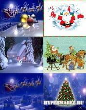 Подборка новогодних и рождественских обоев