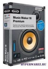 MAGIX - Music Maker Premium v.16.0.2.4 + Full Contents Pack (2010/ENG)