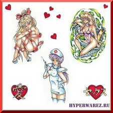Татуировки - Anime. Сборник рисунков