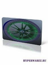 Modeling A Rim And Tire [ Моделирование автомобильного колеса, ENG ] ( 2010 )