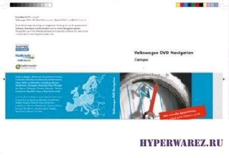 VW navigation DVD Восточной Европы [ V.7.1, для RNS 510 ] ( 2011 )