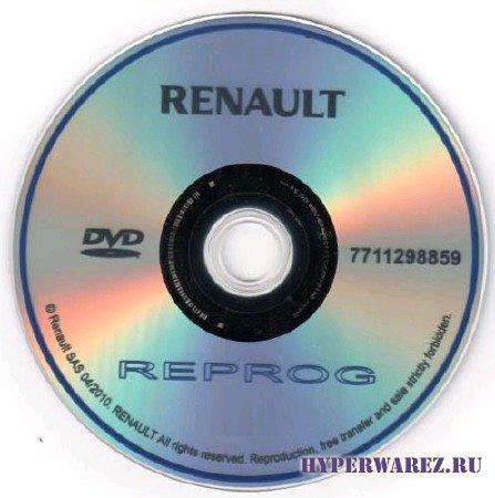 Renault REPROG [ v95,2011 ]