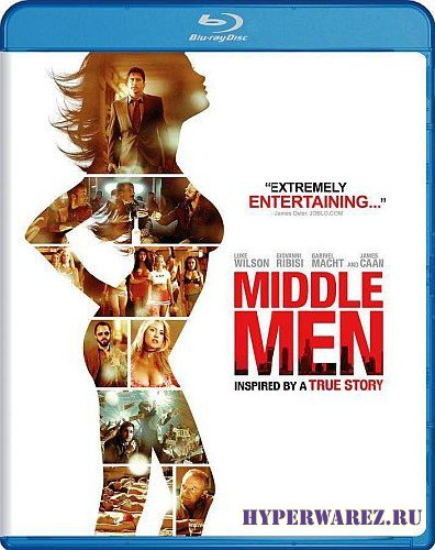 Меж двух огней / Middle Men (2009) BDRip 720p