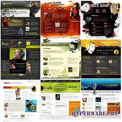 Заготовки-шаблоны для сайтов (2010/2011)