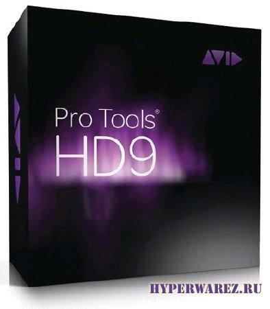 Digidesign Pro Tools HD [ v.9.0.2. Mac Osx, 2011 ]