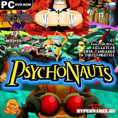 Psychonauts (2005/RUS/ENG/RePack by R.G.Catalyst)