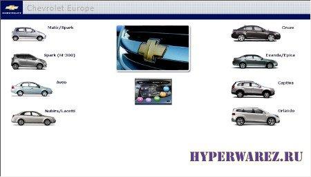 Chevrolet Europe TIS [ v.02.20.11, Многоязычный, 2011 ]