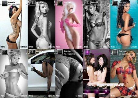 Сотня эротических девушек в темах для Nokia s60 v5