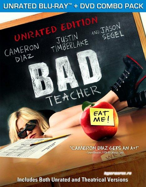 Очень плохая училка / Bad Teacher [UNRATED] (2011) HDRip