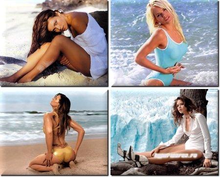 Beautiful girls for desktop - Сборник обоев для ПК - Pack 43