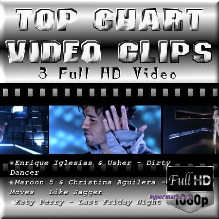 Видео клипы - Top 3 Chart (2011/MP4)