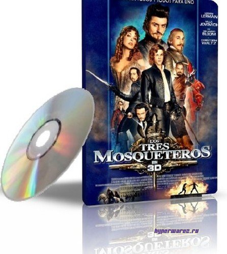 Мушкетеры / The Three Musketeers (2011/TS) 1,40GB
