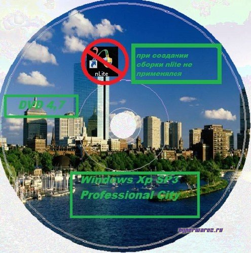 Windows XP Professional SP 3 City 8.10.2011 (Русский)
