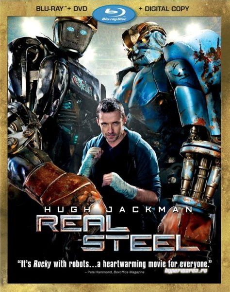 Живая сталь / Real Steel (2011) HDRip